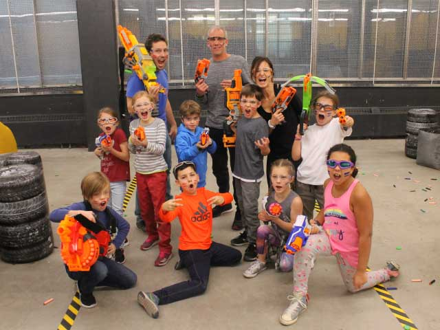 combat nerf kids birthday