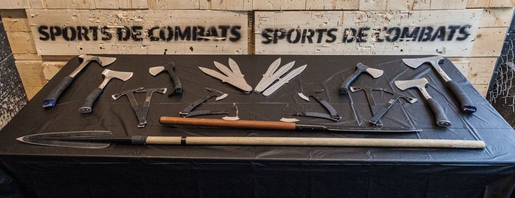 Axe & knife throwing arsenal