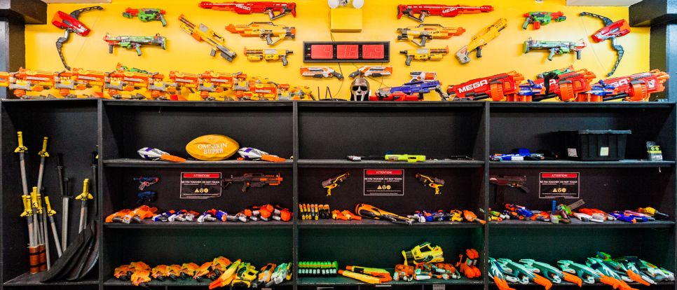 Nerf hero's Combat Nerf Arsenal